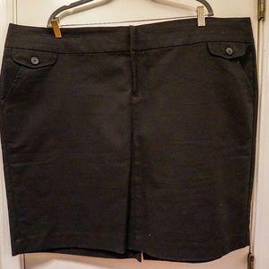 Old Navy Black Pencil Skirt - 26